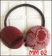 くるみボタン ヘアーゴム MM02