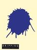 DRIPPING Sticker L(コバルトブルー)