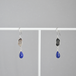 Lapis lazuli plate pierce