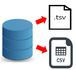 Access VBA テーブルからcsv、tsvファイルを出力する
