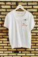 MAGLIA(マリア) Tシャツ T-2002 クルネック ホワイト
