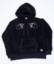 TWIN BLACK PANTHER BOA BIG HOODIE PARKA
