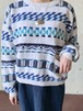 Vintage Cotton Ramie Knit  Sweater By Nordstrom