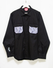 cyber remake pocket work shirt