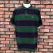 1980s Lacoste Striped Polo Shirt Made In France 6