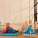 JIM SHORE アナと雪の女王 アナ エルサ 勇気をもって 置き物 フィギュア disney ディズニー インテリア アメリカ