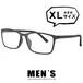 メガネ メンズ ビックサイズ XLサイズ 5616-3 ウェリントン 超軽量 ウルテム 眼鏡 大きめ 大きい venus×2