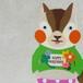 【BIRTHDAY PORORI CARD】クローバー(キミドリ)