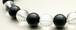 ブラックオニキス&クリスタルクオーツ(8㎜玉)パワーストーン・ブレスレット