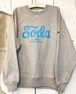 """""""S O D A"""" HEAVY WEIGHT CREW NECK SWEAT(ONLY 1 / XL)"""