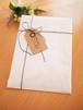 【プレゼントに♪】ラッピングサービス 白紙袋×紙紐(全3色からお選びください)