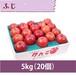【りんご】ふじ 5kg(20個)