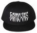 GRINDERS snap back CAP (black)