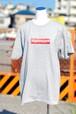 スーパーレスキュウボックスロゴ Tシャツ グレー