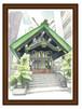 001 築土神社社殿 レプリカ