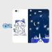 iPhone6Plus/6sPlus 星の花降る夜に 手帳型スマホケース