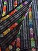 ミャンマー少数民族 手織り刺繍の生地