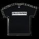 Logo T-shirts[黒]