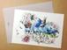 issuimiyamoto × akimiyajima PostCard A5size