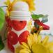 無印良品「飲み方が変えられる水筒」限定★水筒ケース、水筒カバー(りんご)