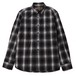 CHECK WORK SHIRT (BLACK) / RUDE GALLERY BLACK REBEL