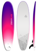 Storm Blade 7ft Surfboard / PURPLE FADE  WHITE GRAPHIC