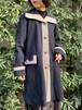 (TOYO) bi-color design coat