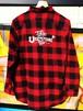 『Tokyo Underground Style』フランネルシャツ(レッドブロックチェック)