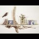 流木の壁掛けシェルフ飾り棚-10