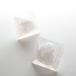 ピラミッドドームピアス(水の泡)