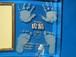 手形&足形フォトスタンド(ベビー)両手足 商品ID:FS-00063        曲ガラス アクリルスタンド付 ギフト包装無料 送料別途(サイズ80)