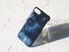 #misty moon  ハンドペイントと切り絵のスマホケース  iPhone (12/12pro/ 12 mini /SE2/6/6s,6plus,7/7plus ,8,8plus/X /XR/XS / XS Max/11 /11 Pro  /11 Pro Max )