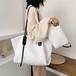 便利柔らかいPU無地女性大容量使いやすいレディースおしゃれトートバッグバッグ
