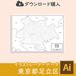 【ダウンロード】足立区(AIファイル)