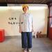 サマーリネンシャンブレー  Workポケットgirl'sシャツ 12S24 サイズ2