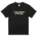 マカロニフォントTシャツ(ブラック)