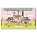 ペット名刺_長方形タイプ_春の縁側デザイン【横型多頭飼い特化版】(1個50枚)_rec_w012-c