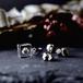 【10月誕生石カラー オパール】スワロフスキーとパイライトのピアス 選べる誕生石カラー(無料ギフトラッピング, メッセージカード, 誕生日プレゼント)