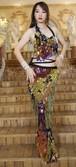 女性のベリーダンス衣装セットレディマーメイドスパンコールヒップタオルベリーダンストップ + ヒップスカーフラップベルトスパンコール魚鱗ダンスウェア