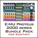 E-MU Proteus 2000 series Bundle Pack for Kontakt