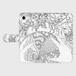 手帳型(帯あり)(iPhone8):kazue.M_010(球魂(きゅうこん))