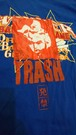 【TRASH】 blue tee