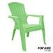 Kids Garden Chair Adirondack(キッズガーデンチェアーアディロンダック)サマーグリーン