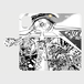 """【受注生産】宮西計三『エレベーション Sa・Yo・Na・Ra』 """"Laser-Eye"""" 手帳型スマートフォンケース"""