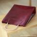 紙袋っぽい革袋M・ボルドー