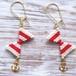 Cute Ribbon  Pierce -Red-