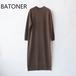 BATONER /バトナー・Fleece Wool Onepiece
