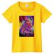 「誰も知らない」Tシャツ(黄 Women)