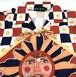 太陽神のめでたいナイロンシャツ/メンズS、L