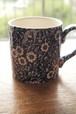 Burleigh(バーレイ)ブルーキャリコ マグカップ